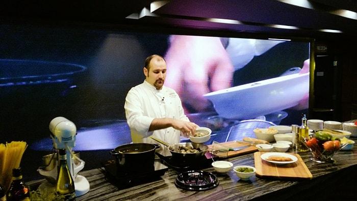 Experience the Master Cooking Demo with Chef Andrea Delzanno at Marco Polo Ortigas Manila