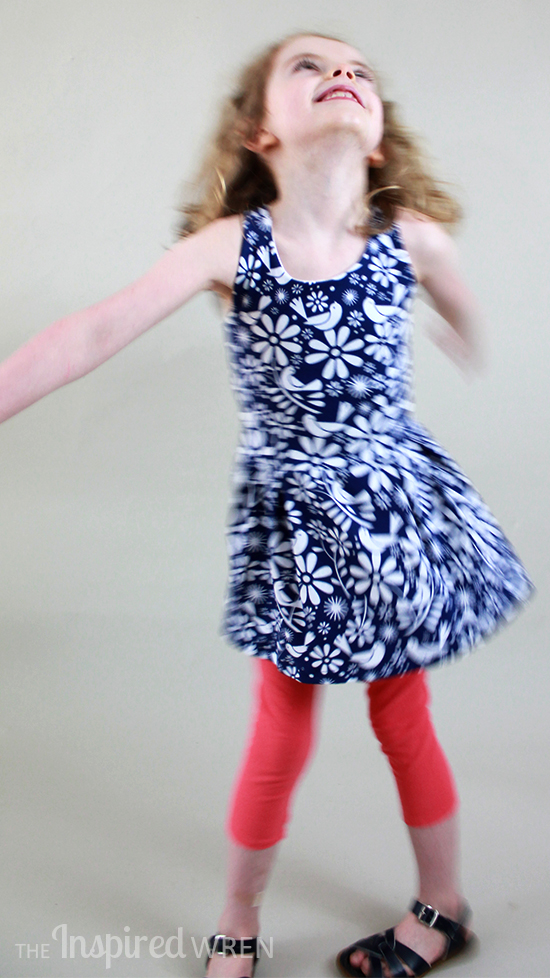 Solis Tunic & Dress from Sofilantjes Patterns for Pattern Revolution   The Inspired Wren