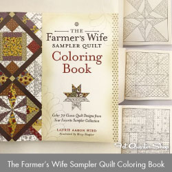 http://www.fatquartershop.com/the-farmers-wife-sampler-quilt-coloring-book