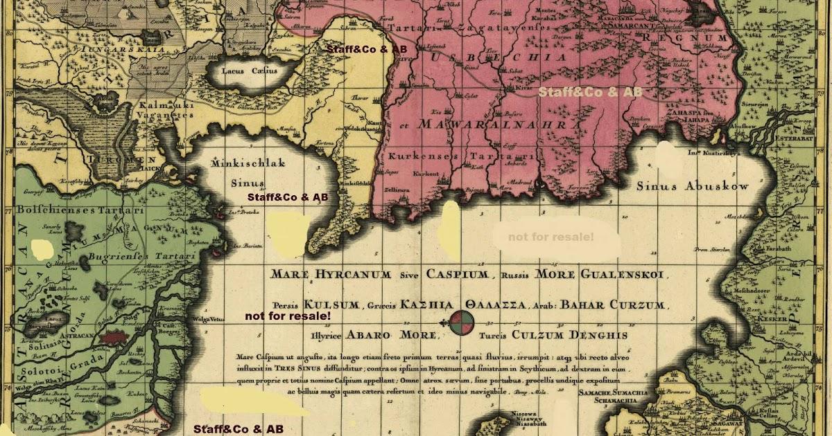Старые карты Кавказа, где нет Армении и армян