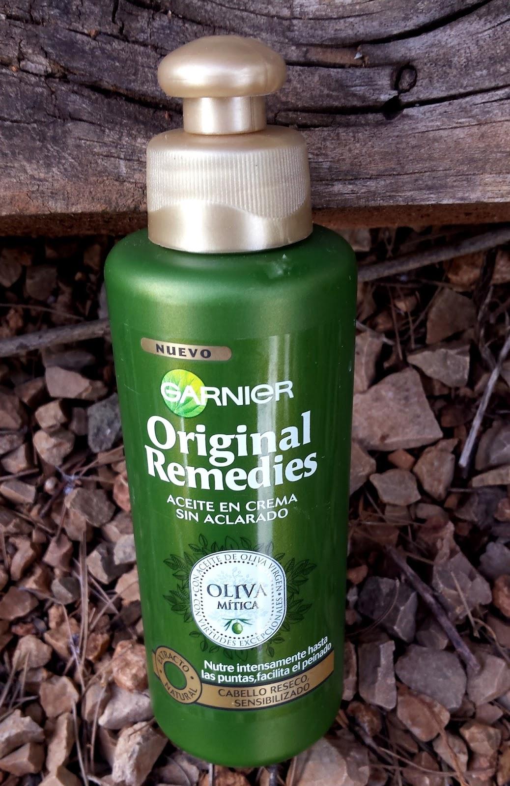 Aceite de oliva para el pelo rizado