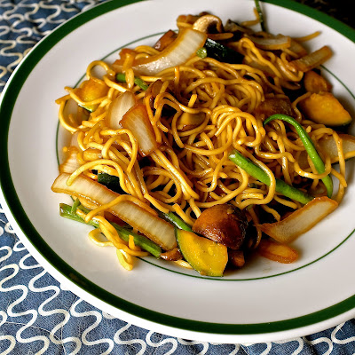 Vegetarian Noodle Bowl