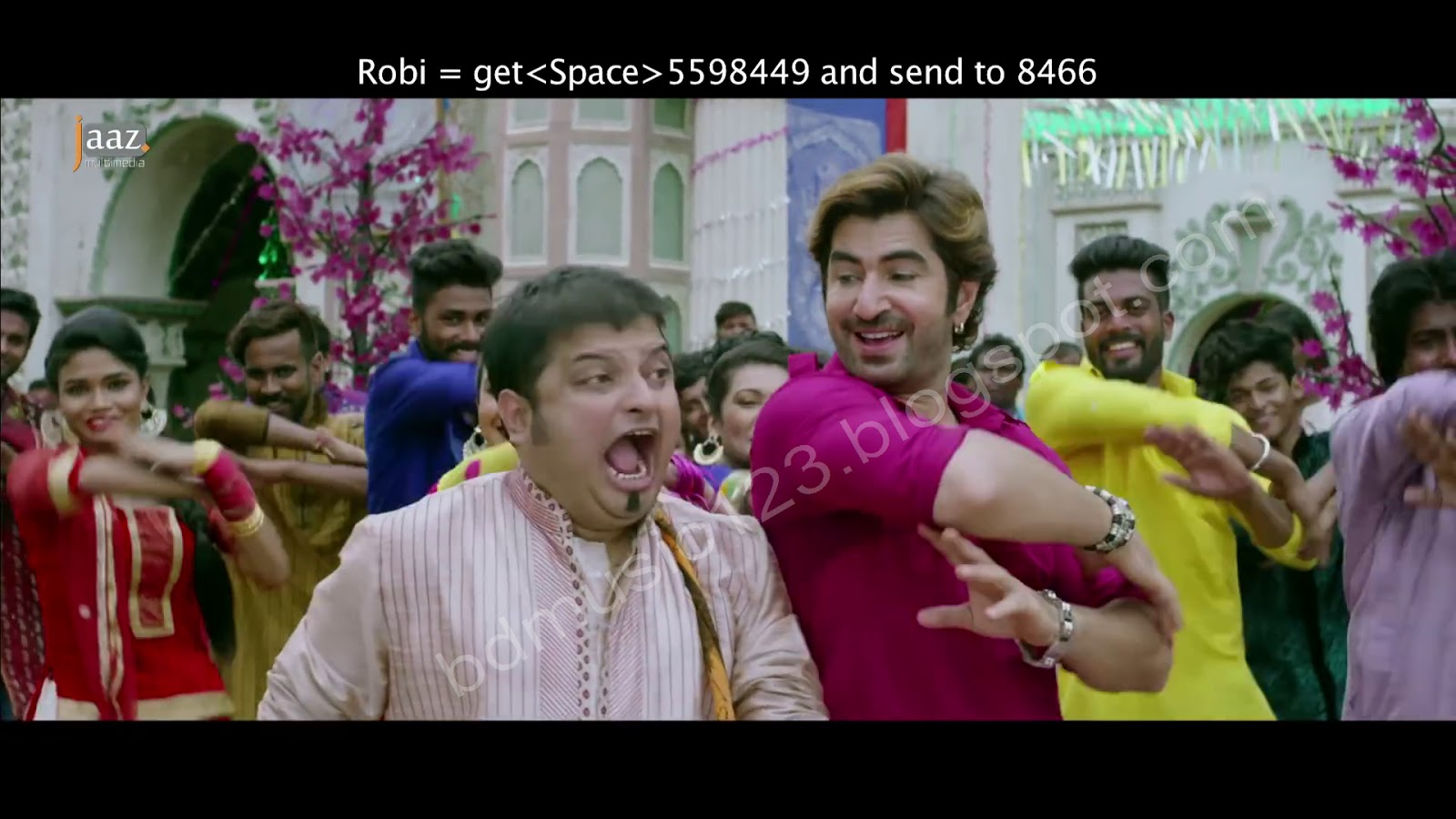Mubarak Eid Mubarak Full Video Song Mp4 Badsha Bengali Movie Jeet Nusrat Faria Baba Yadav Free Download Bd Music 123 Bangla