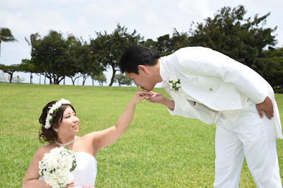 Kiss Bride's Hand