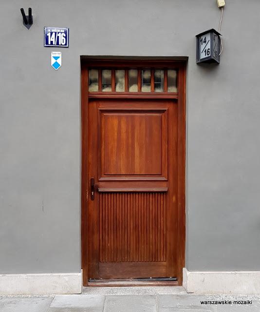 drzwi Warszawa Warsaw Nowe Miasto warszawskie kamienice Bocheński architektura