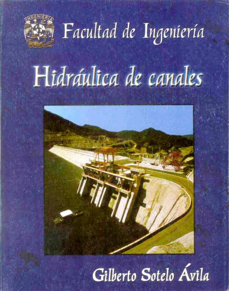 libro de sotelo hidraulica de canales pdf