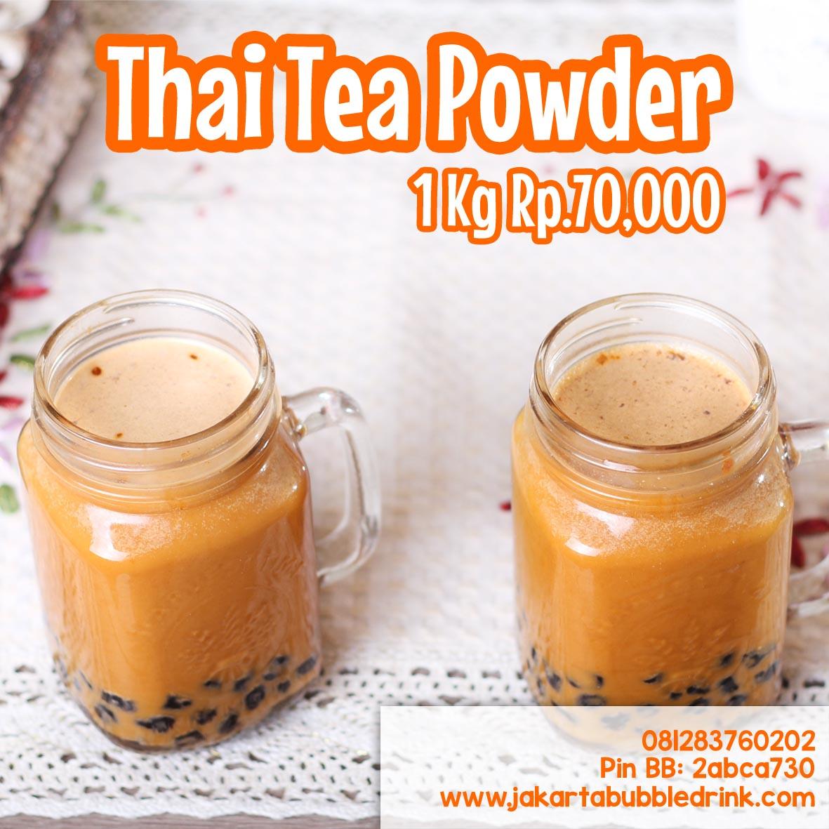 Bubuk Minuman Rasa Thai Tea  Paling Laris di Sumedang