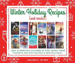 Winter Holiday Recipes (and reads!) even with #TLCBookTours