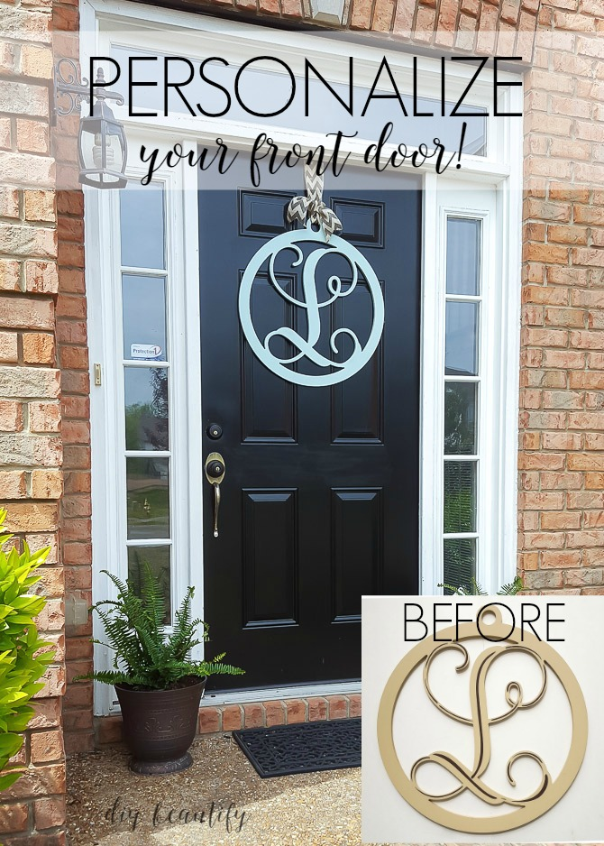 Personalize your front door