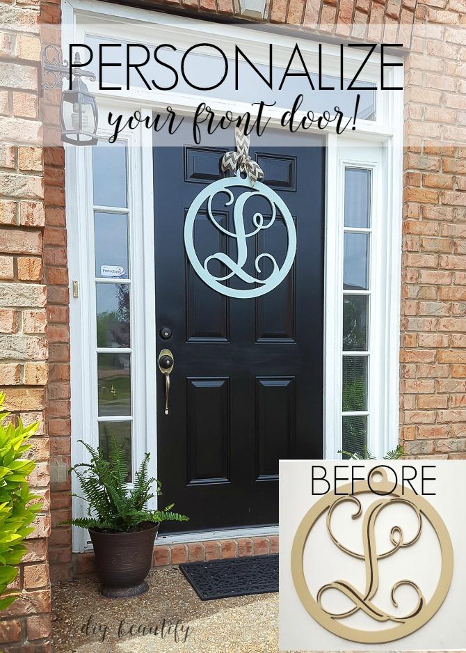 Personalize your front door