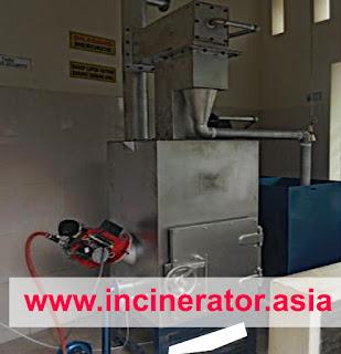 insinerator limbah medis dari klinik