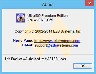 UltraISO 9.6.2 Premium Edition Full Keygen