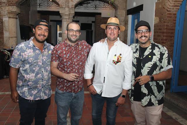 Rene Arbaje, Jorge Selman, Luis Rodríguez y Rafael Miguel