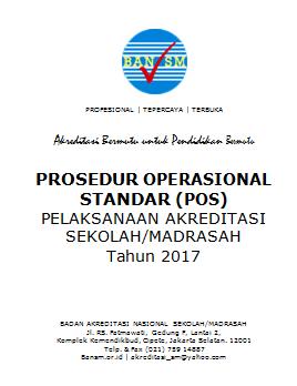 gambar pos akreditasi SD, SMP, SMA, SMK 2017
