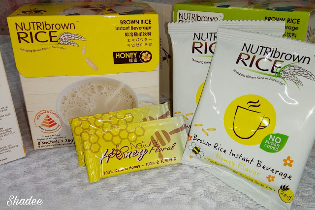 NutriBrownRice Honey