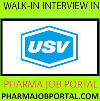 USV LIMITED Walk In Interviews at 27 October - Apply Now