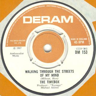 The UK stock single. Deram DM 153.
