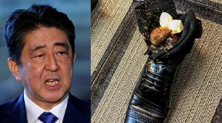 इसराइली प्रधानमंत्री ने जूते में परोसा डेज़र्ट के लिए इमेज परिणाम