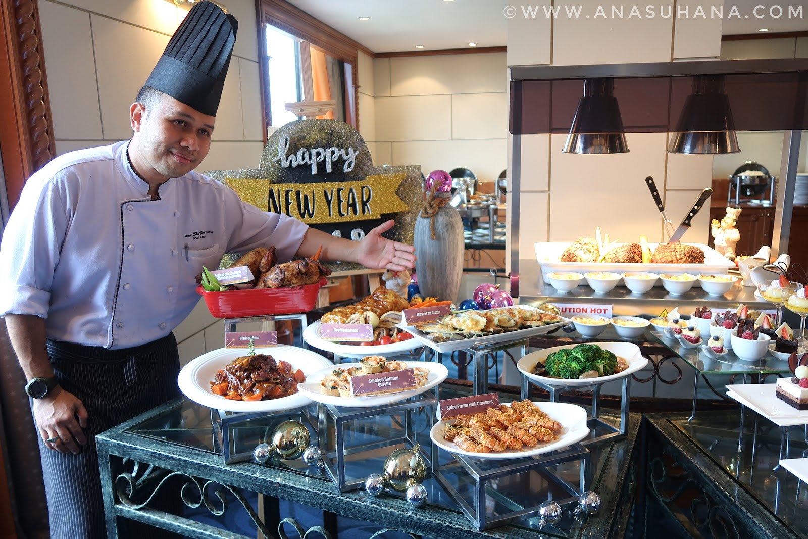 New Year Eve Dinner Hotel Grand BlueWave Shah Alam