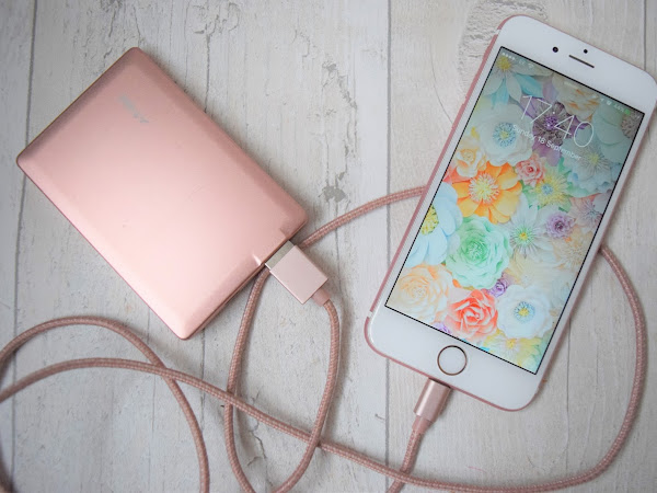 Tech | PNY Rose Gold Power Bank and 1.2m Cable Charger