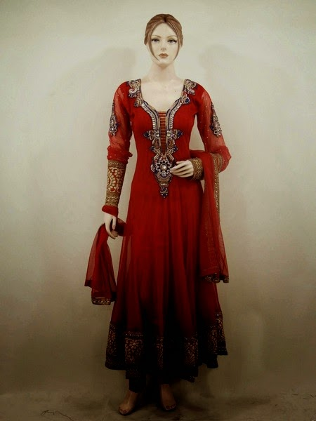 Long Anarkali Suits are Best for Wedding