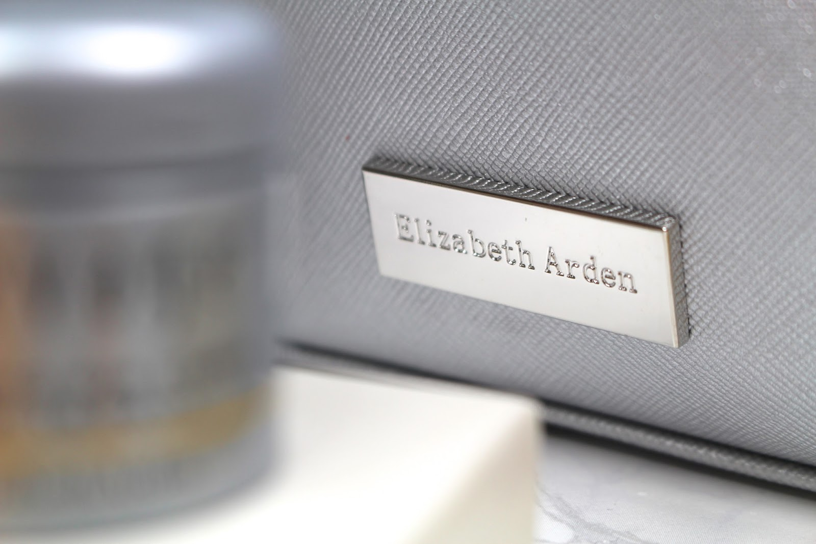 Elizabeth Arden silver gift bag house of fraser