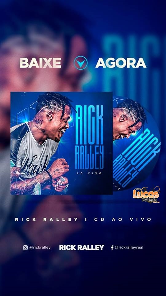 RICK RALLEY - CD AO VIVO NO POINT DO SAMBA [ PRA PAREDÃO ] 2018