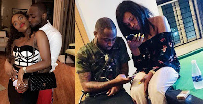 Davido reacts to break up rumors with his girlfriend, Chioma