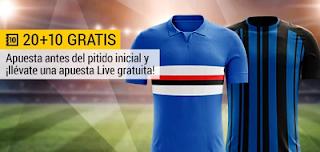 bwin promocion Sampdoria vs Inter 18 marzo
