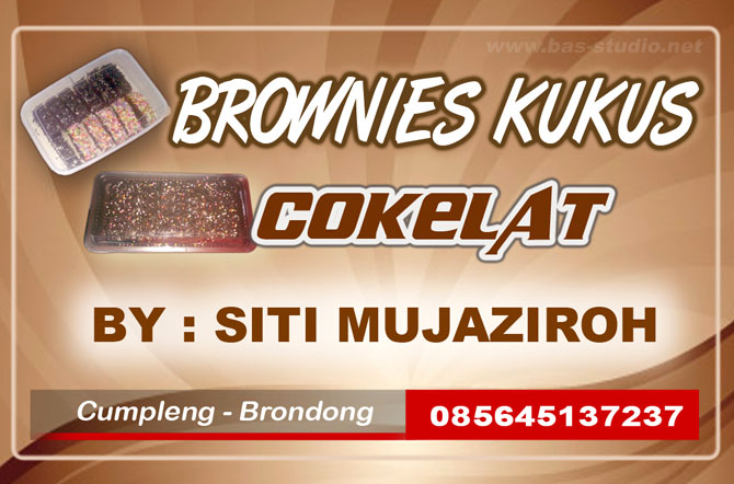 Label Kue Brownies