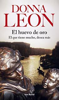 """""""El huevo de oro"""" - Donna leon"""