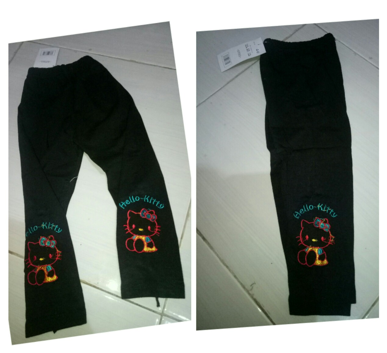 Toko Online Yang Jual Celana Legging Panjang Bahan Kaos Warna Hitam