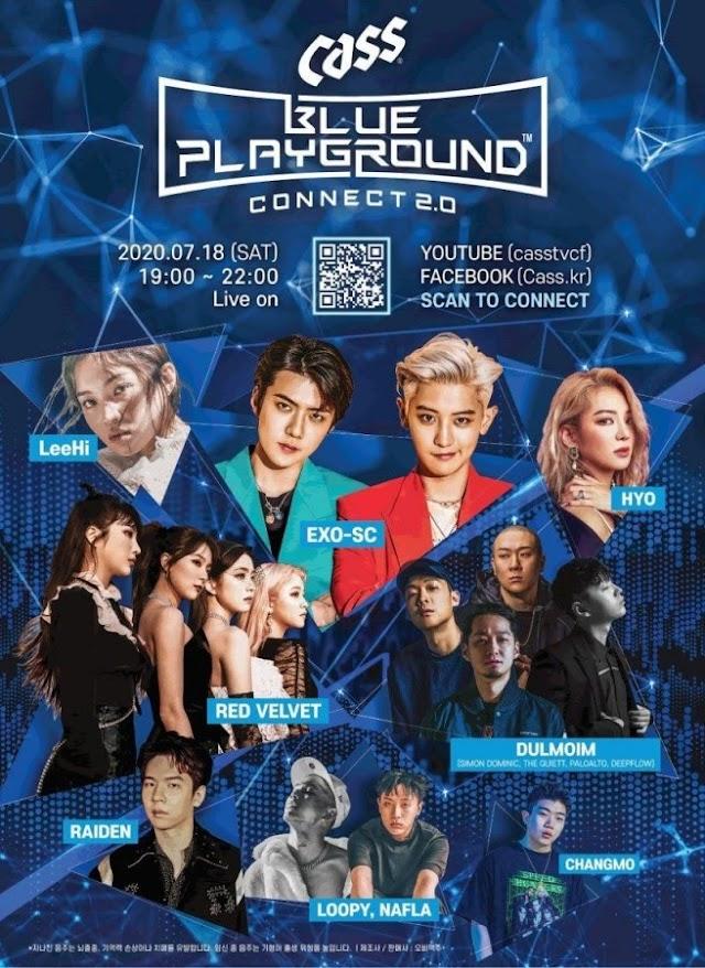 Cass Blue Playground Connect 2.0