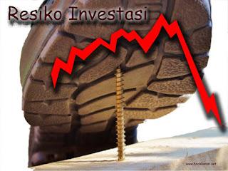 resiko investor dan trader pasar modal