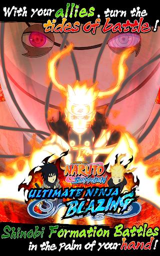 تحميل لعبة Ultimate Ninja Blazing مهكرة للاندرويد اخر اصدار