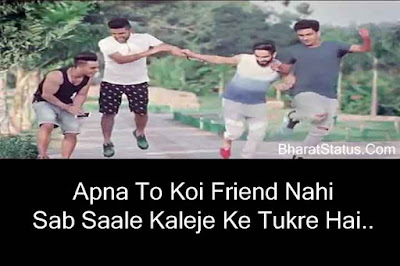 New Yaari Dosti Attitude Status in Hindi