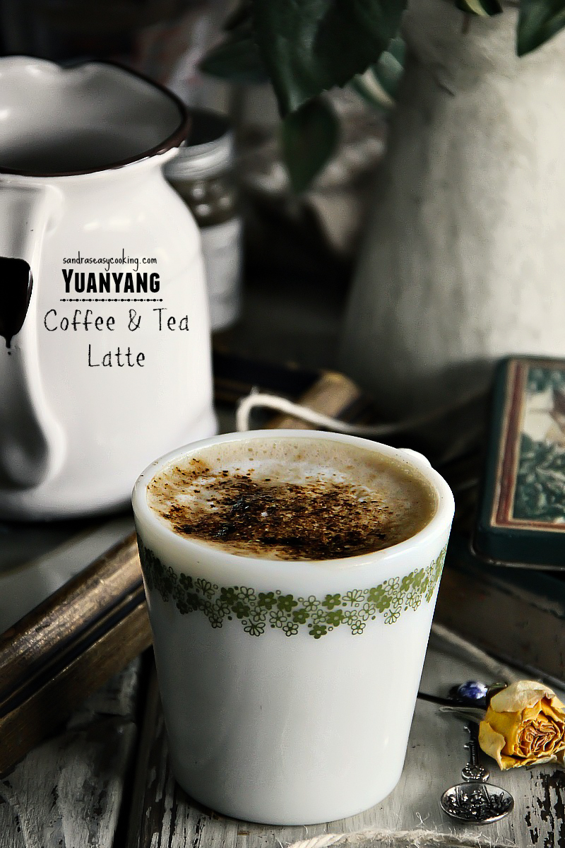 Yuanyang - Coffee & Tea Latte with #YouTube video #recipe