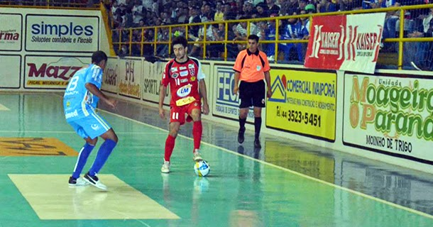 971cc94fb3 A segunda rodada do Campeonato Paranaense de Futsal