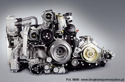 Silnik MAN w wersji Euro-6