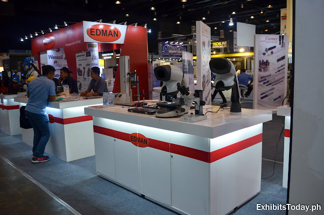 Edman Machtools Exhibition Booth