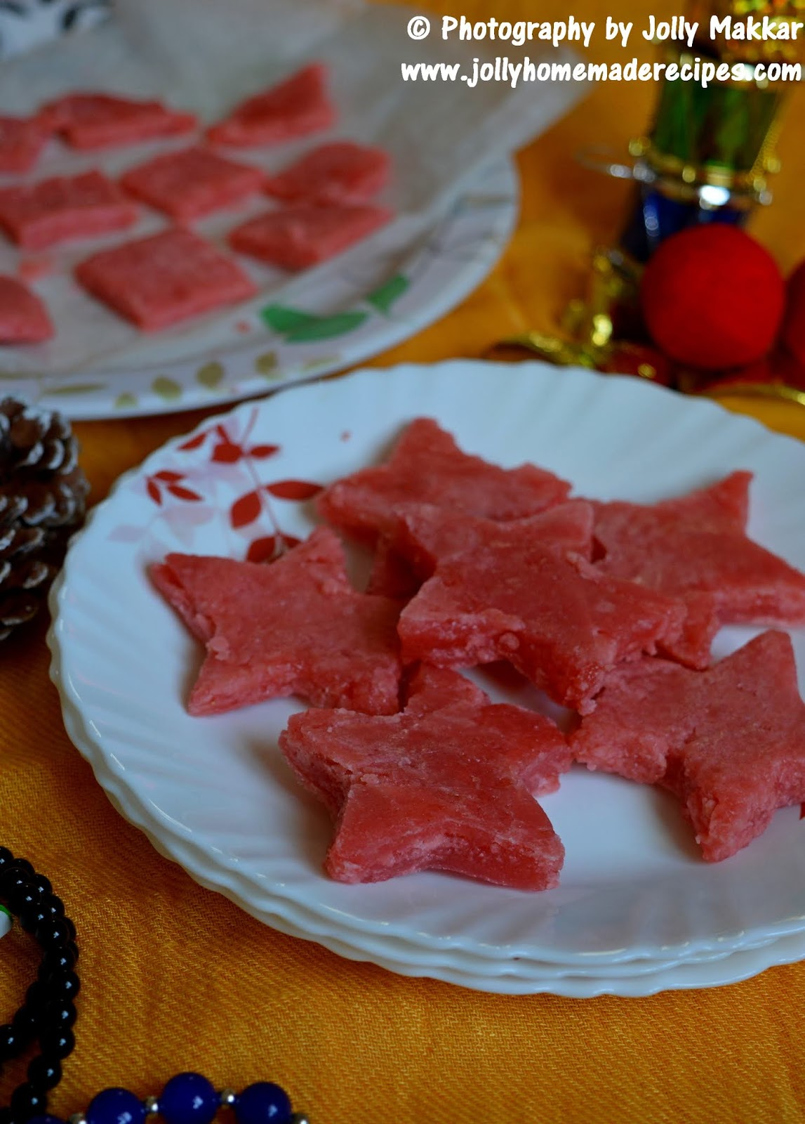 christmas special sweet - goan guava cheese
