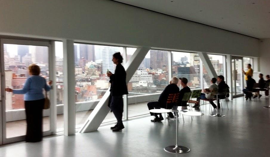 The New Museum of Contemporary Art em Nova York