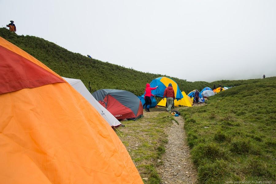 小溪營地 露營 反射板 日出