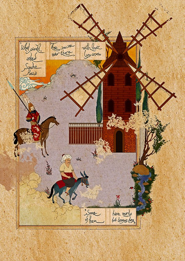 Murat Palta - Incarnated by Words - Don Quixote || #LibrosPOP - LasMilVidas