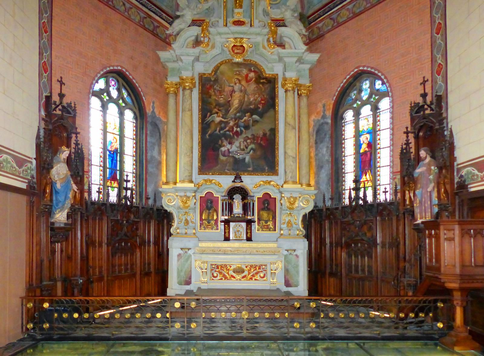 Photo Chapelle d'Havré, Tourcoing - Retable et autel