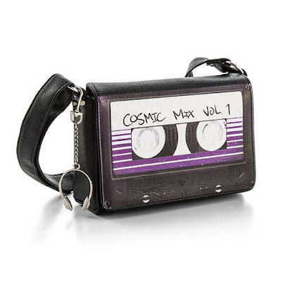 Guardians of the Galaxy Cassette Tape Bag Keychain