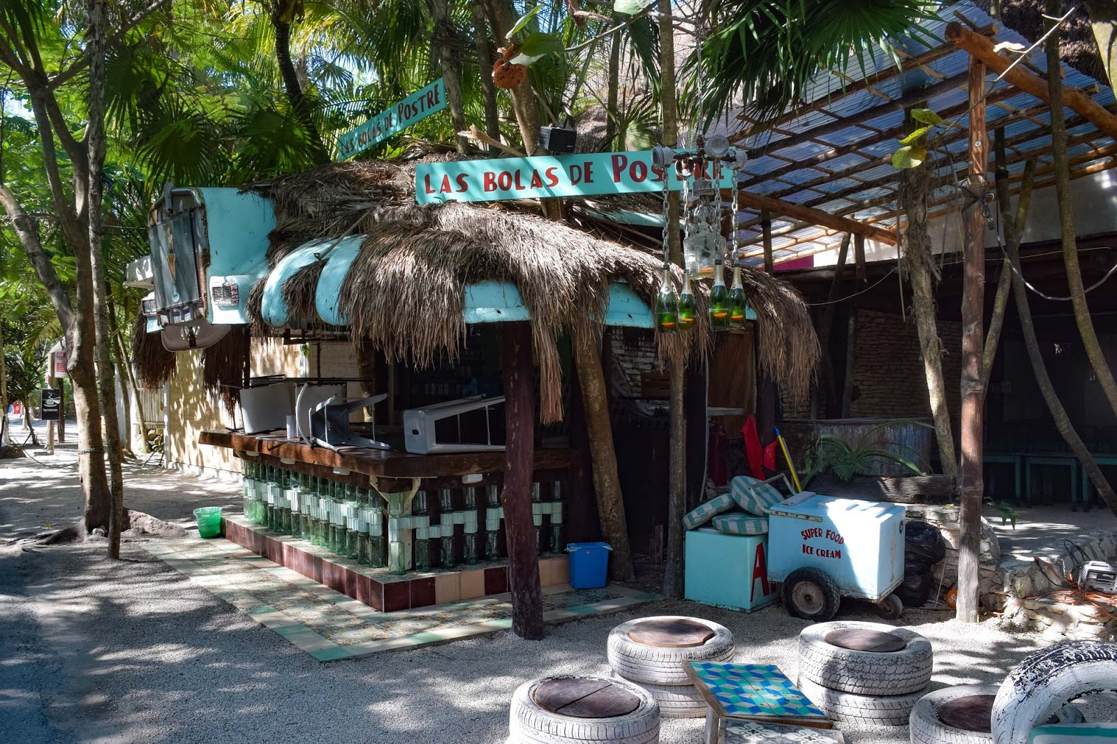 the tulum beach strip