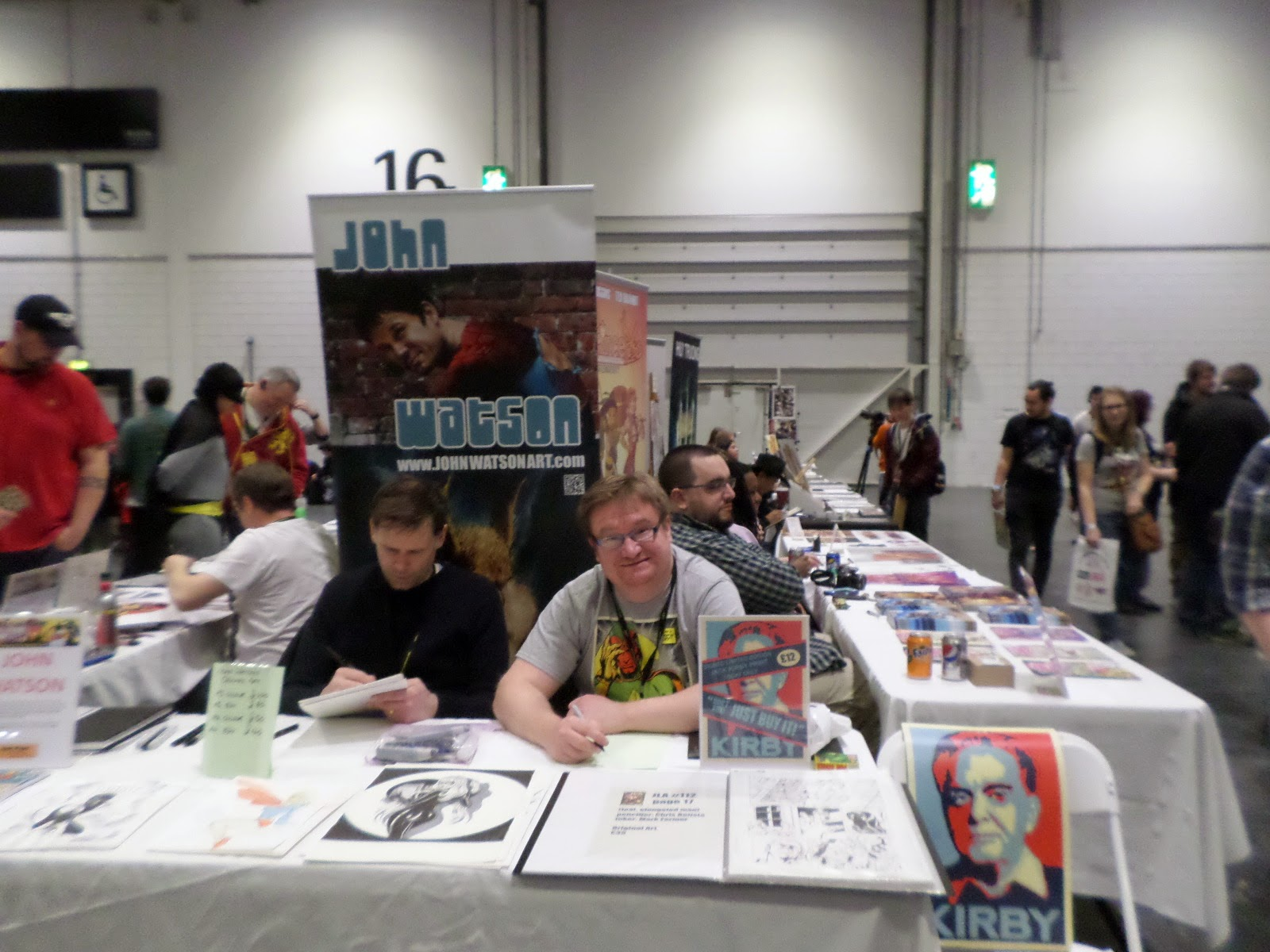 John Watson and Russell Payne at LSCC 2015