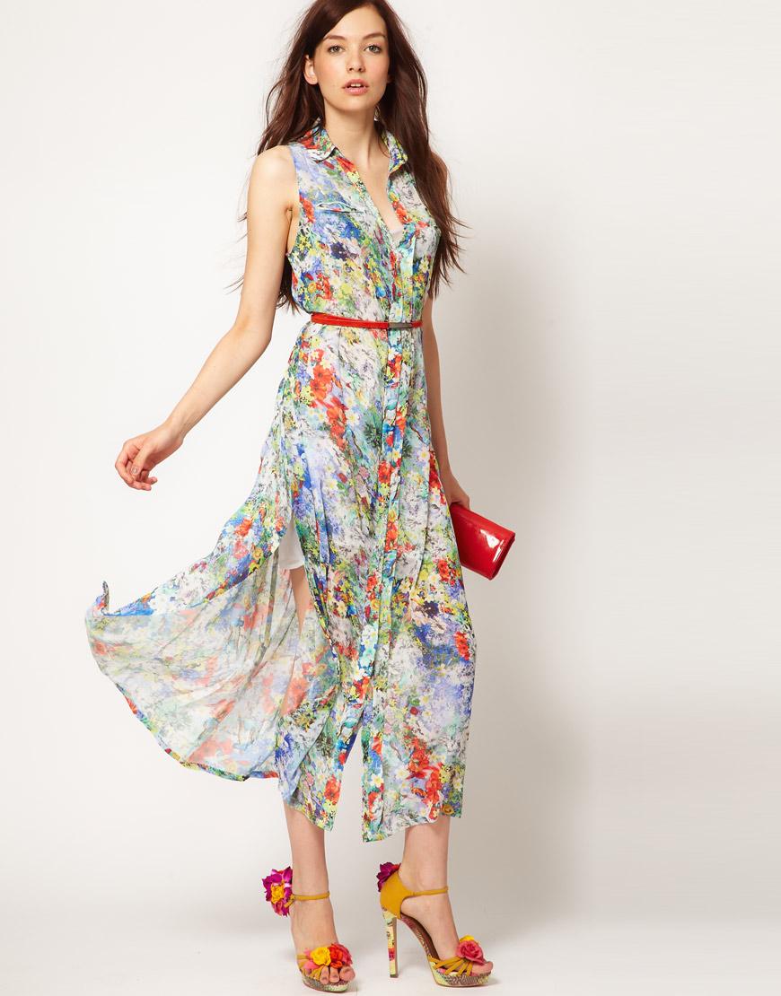 Domestic Sluttery Dream Dress Floaty Florals