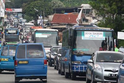 Mulai Besok Truk Besar Dilarang Melintas di Sukabumi